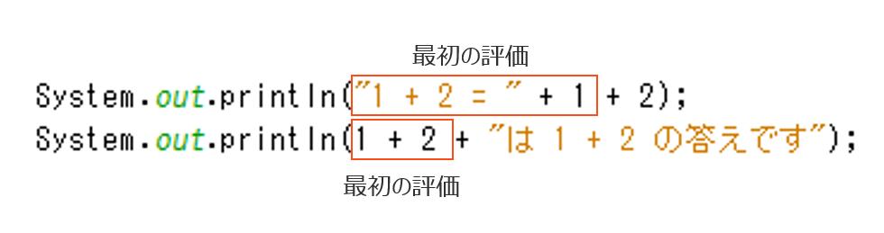 算術演算子は左結合